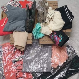 Other - 25 Mixed Clothing Box Lot Sale